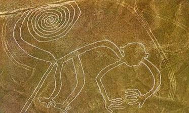 Nazca Lines Monkey